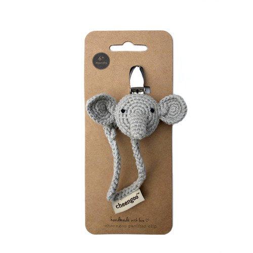Elephant Pacifier Clip